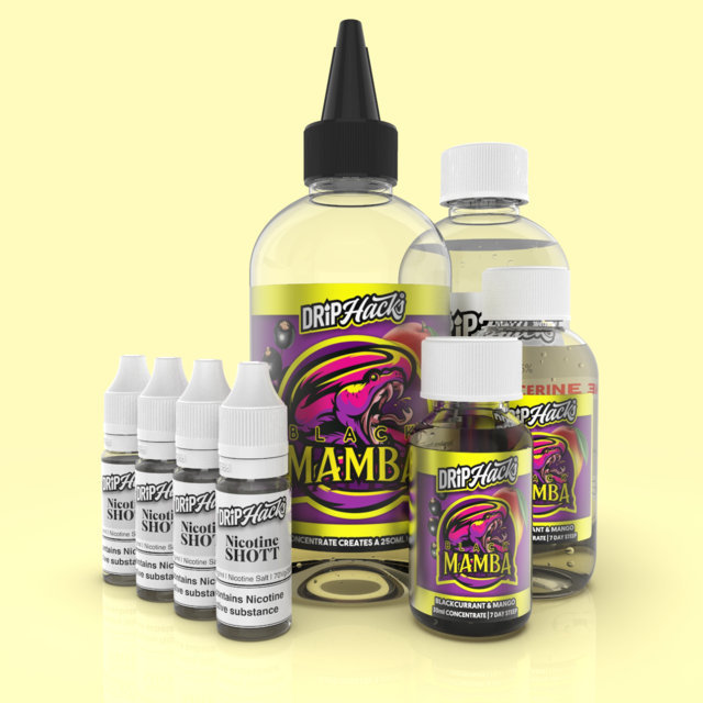 Blackcurrant Mango-Eliquid-Concentrate